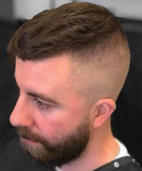 Textured Long Fringe - Medium Length Hairstyles For Men