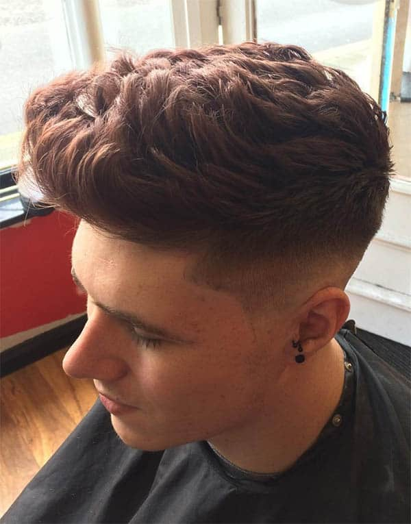 Textured + Messy Quiff - Best Quiff Haircuts For Men