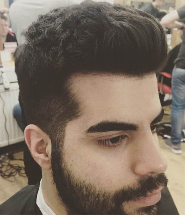 Textured Shape Up Quiff - Best Quiff Haircuts For Men