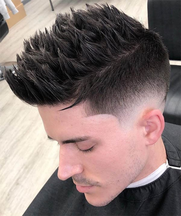 Textured Spikes - Long Haircuts For Men