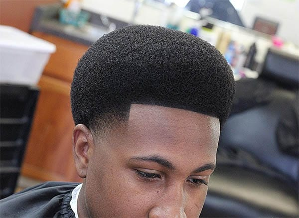 The Afro Cut - High Top Fade Haircuts