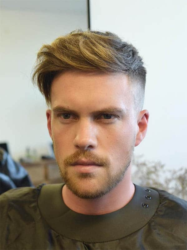 The Asymmetric Style - Undercut Hairstyles For Classy Men