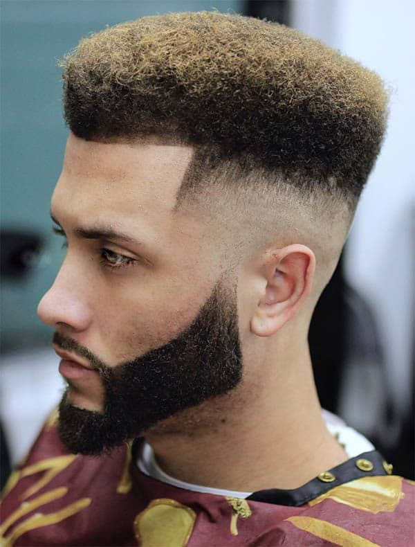 The Box Fade - High Top Fade Haircuts