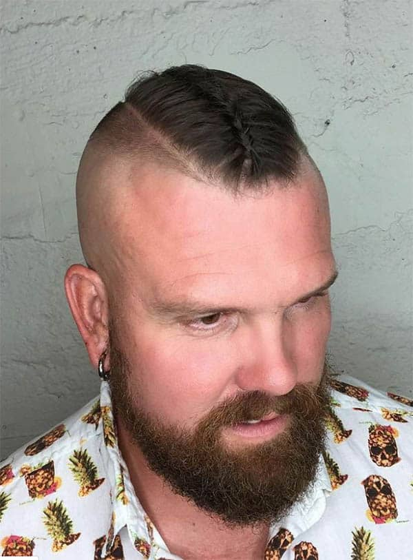 The Braid - Haircuts For Balding Men