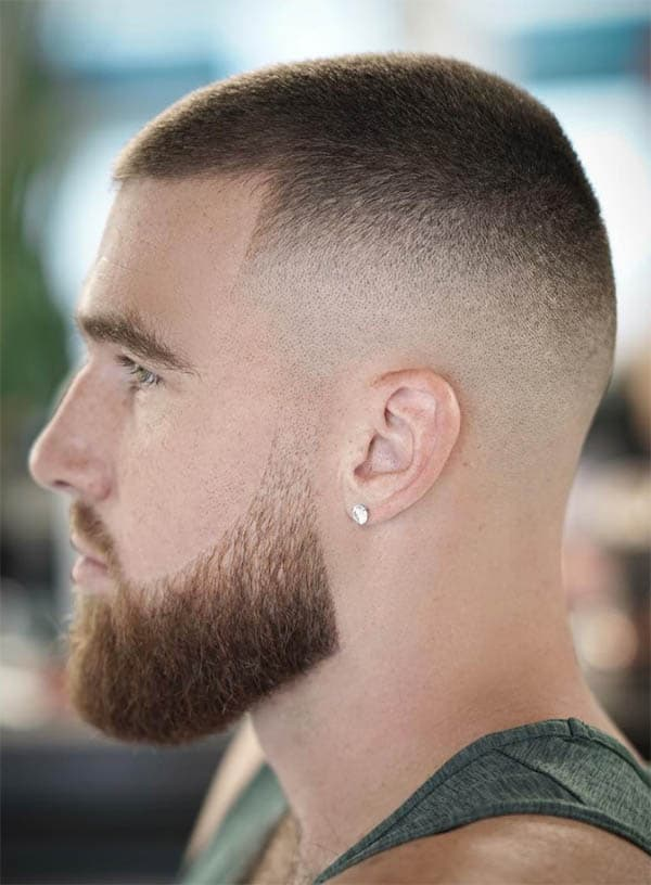 The Buzz Fade - Mid Fade Haircuts For The Stylish Man