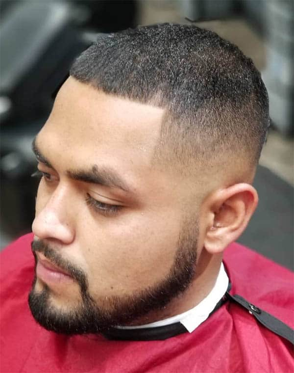 The Caesar Cut - Mid Fade Haircuts For The Stylish Man