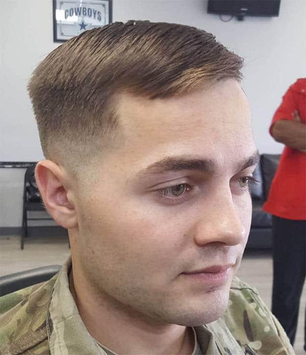 The Chiseled Military Style - Best Military Haircuts