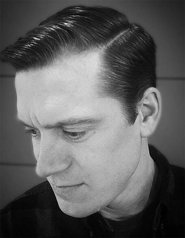 The Classic Comb Over - Medium Length Hairstyles For Men