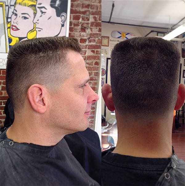 The Classic Flat Top - Best Military Haircuts