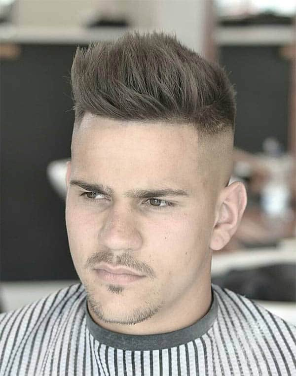 The Comb Up - Undercut Hairstyles For Classy Men