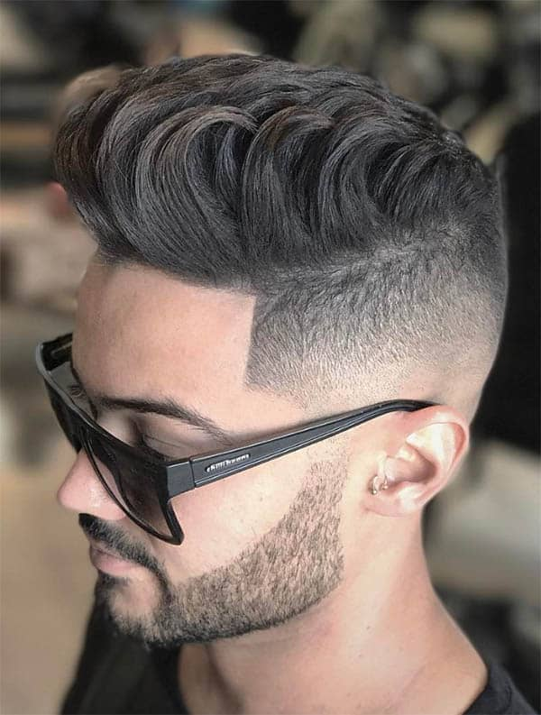 The Daunting Quiff - High Top Fade Haircuts