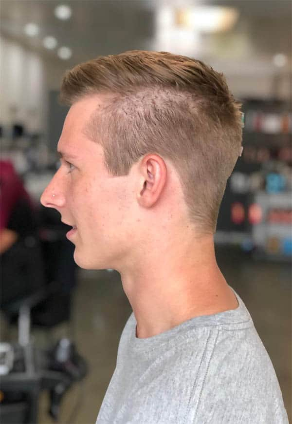 The Disconnected Look - Undercut Hairstyles For Classy Men
