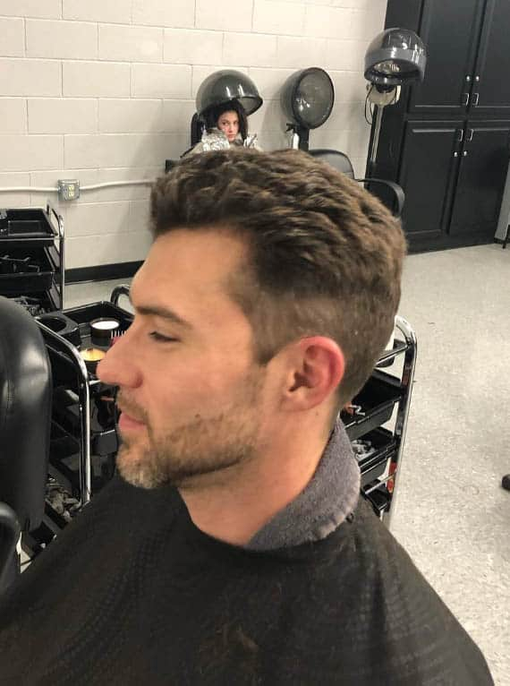 The Gelled Style - Mid Fade Haircuts For The Stylish Man