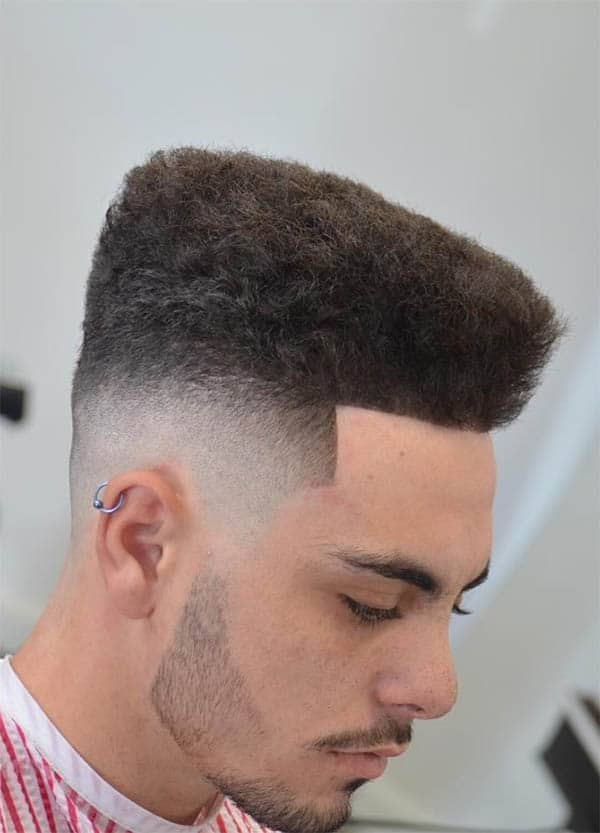 The High Top - Undercut Hairstyles For Classy Men