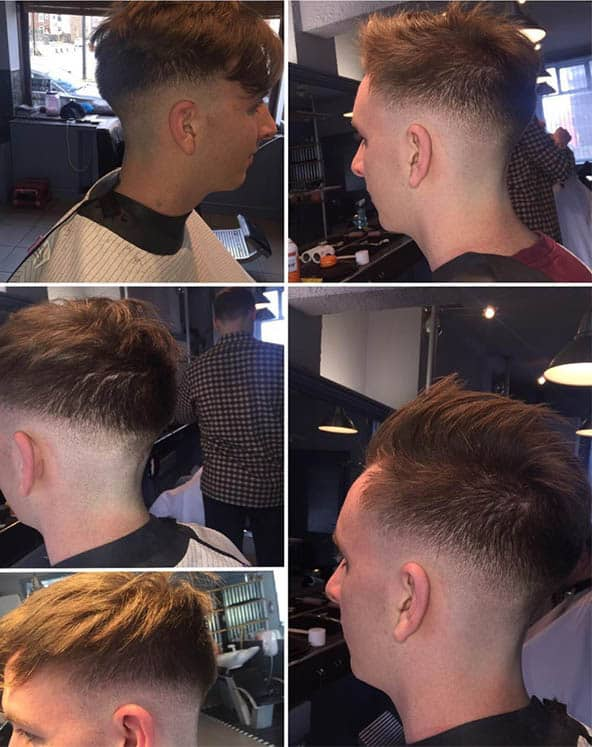 The Level Fade - Mid Fade Haircuts For The Stylish Man