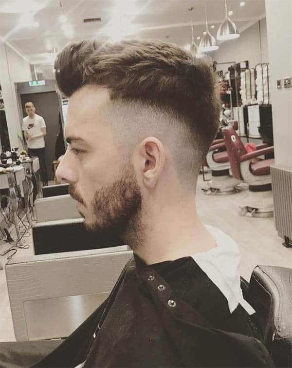 The Long Top with Neat Undercut - Short Sides Long Top Hairstyles For Men