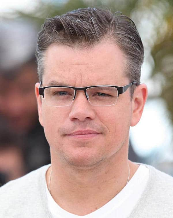 The Matt Damon's Ivy League - Best Ivy League Haircuts