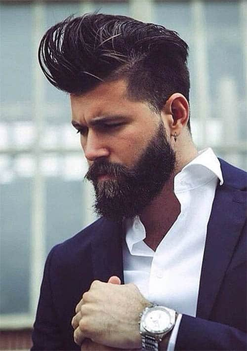 The Medium Length Top - Undercut Hairstyles For Classy Men
