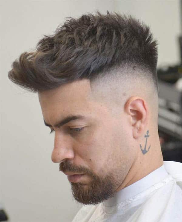 The Medium Quiff - Undercut Hairstyles For Classy Men