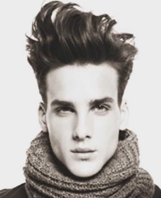 The Messy Quiff - Best Quiff Haircuts For Men