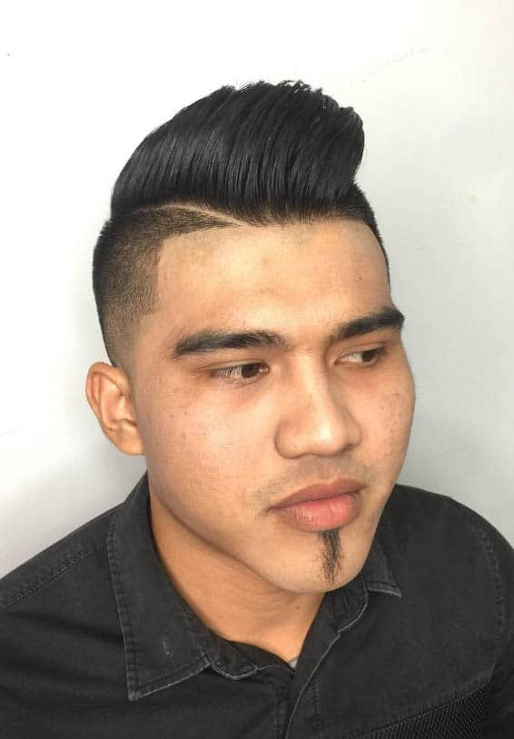 The Playboy Cut - Short Sides Long Top Hairstyles For Men