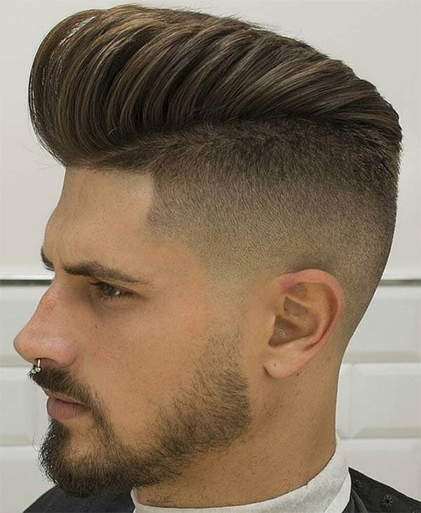 The Pompadour - Undercut Hairstyles For Classy Men