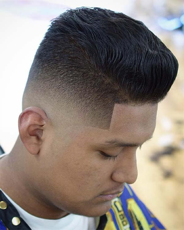 The Sharp Fade - High Top Fade Haircuts