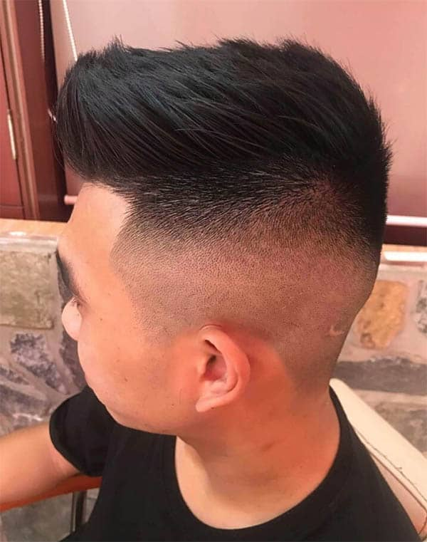 The Short Quiff - Mid Fade Haircuts For The Stylish Man