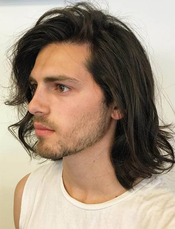 The Shoulder-Length - Long Haircuts For Men