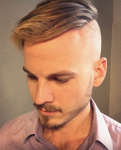 The Slick Forward - Undercut Hairstyles For Classy Men