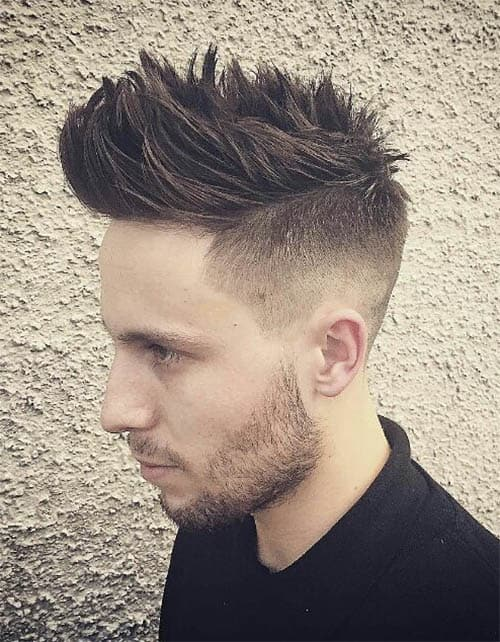The Spiky Undercut - Undercut Hairstyles For Classy Men