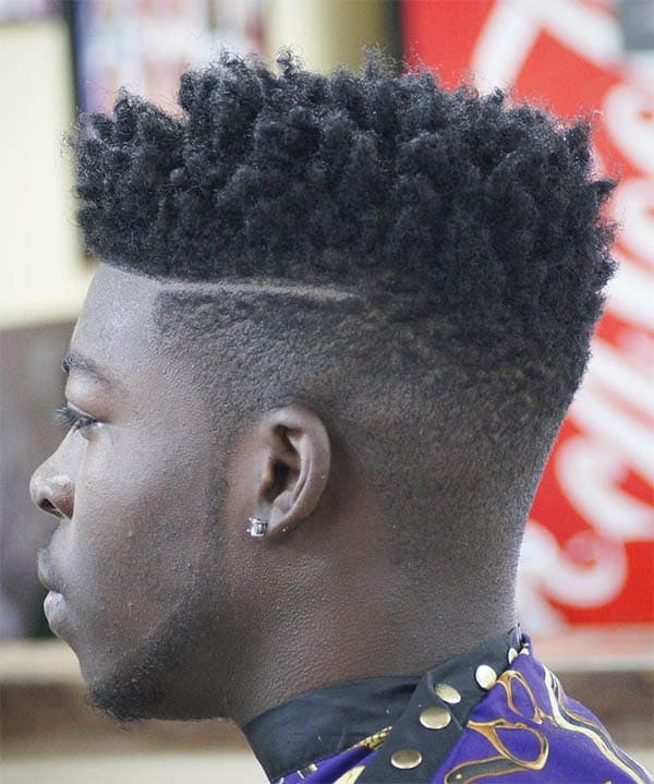 The Taper Fade - High Top Fade Haircuts
