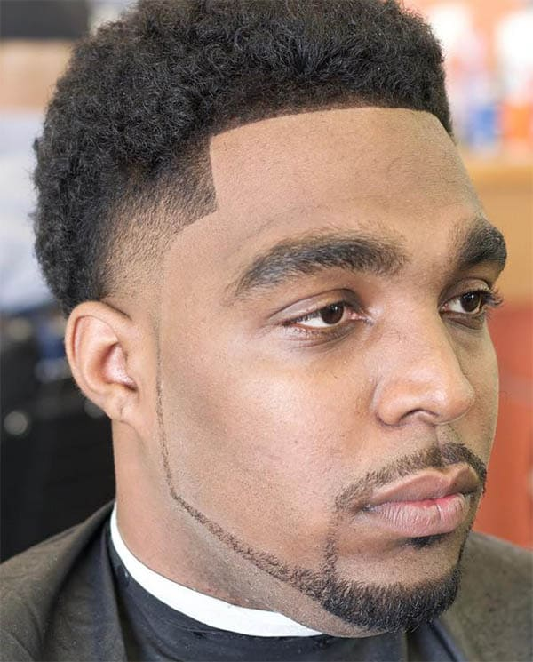 The Tapered Edges - High Top Fade Haircuts