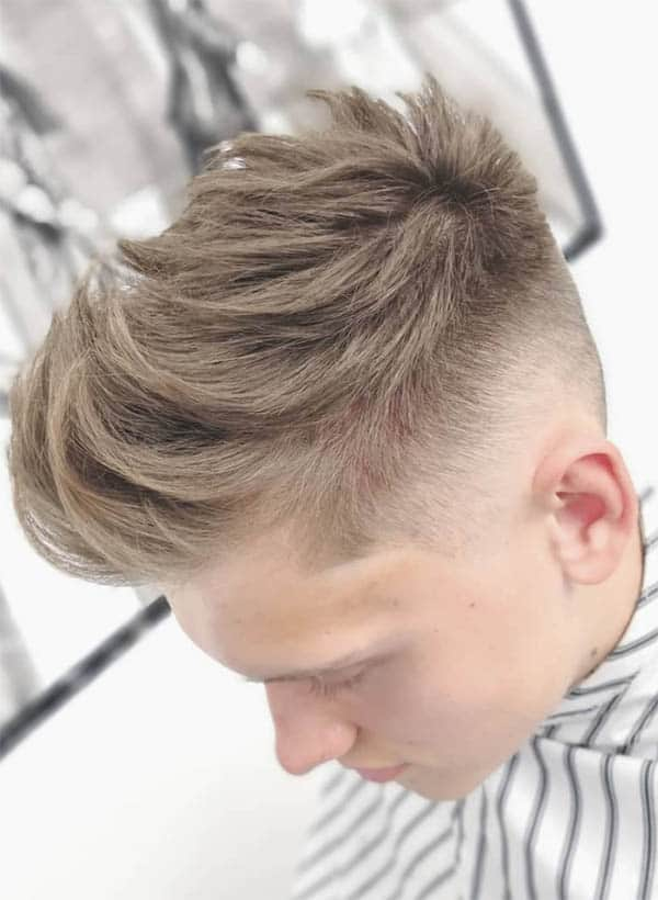 The Textured Quiff - Short Sides Long Top Hairstyles For Men