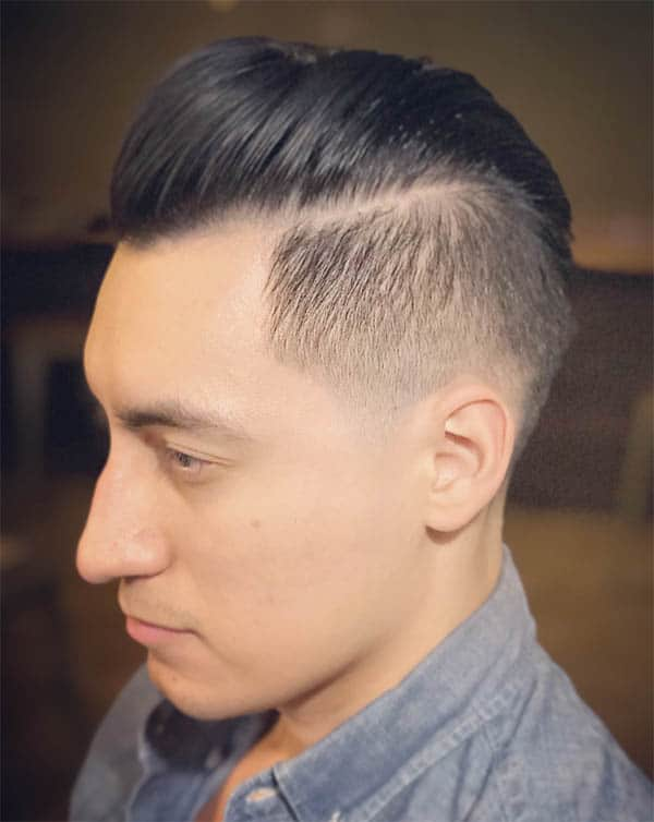 The Undercut and Pomp - Haircuts For Balding Men