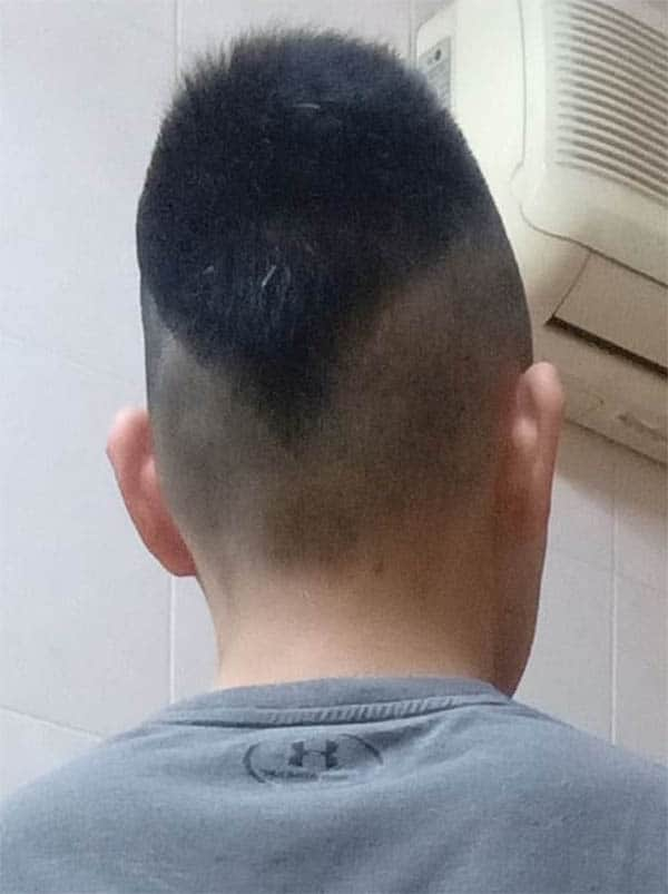 The V-Back - Best Ivy League Haircuts