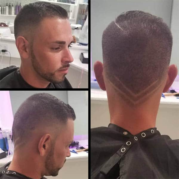 The V-Cut - Mid Fade Haircuts For The Stylish Man