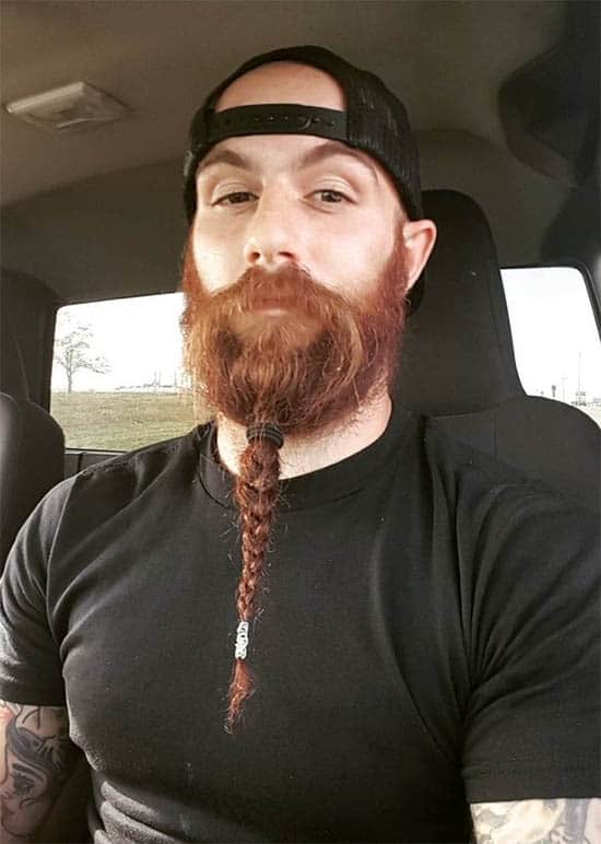 The Viking Braided Beard - best Viking Hairstyles