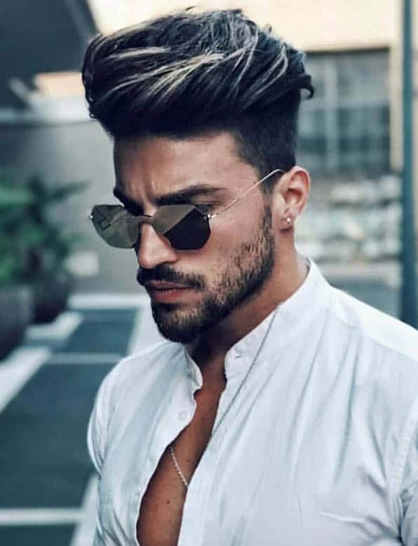 The Voluminous Undercut - Short Sides Long Top Hairstyles For Men