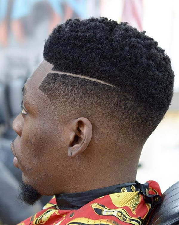 Thick Top and Surgical Part - High Top Fade Haircuts