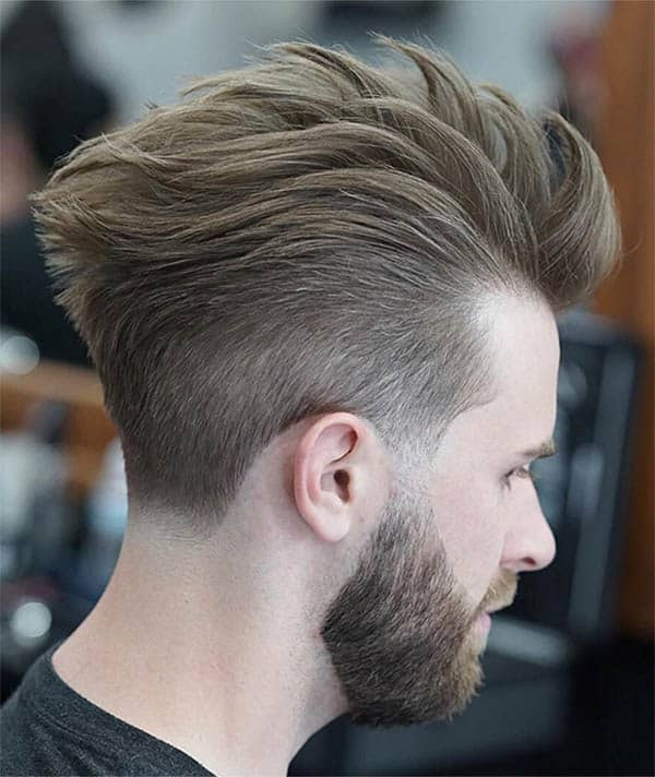 Thickly Textured Quiff - Best Quiff Haircuts For Men
