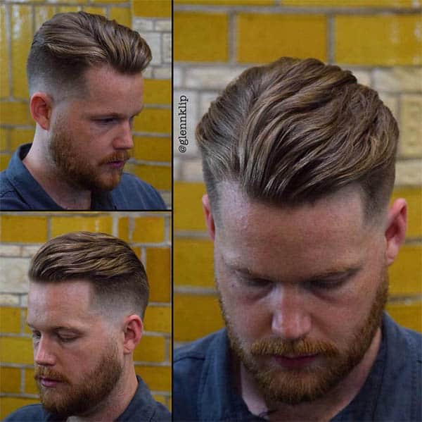 Top Side Swept Quiff - Best Quiff Haircuts For Men