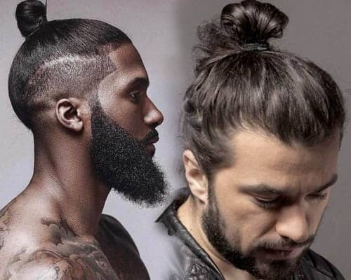 Trendy Samurai Hairstyles For Men