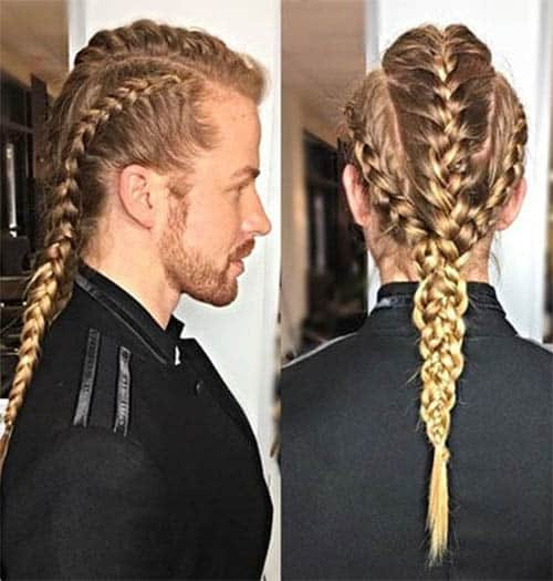 Twisted Braids Viking Hairstyle - best Viking Hairstyles