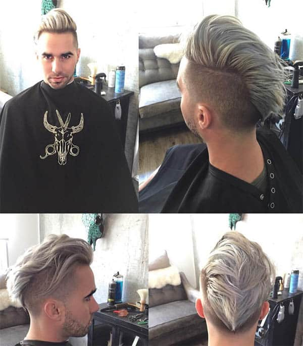 Under-Hawk - Medium Length Hairstyles For Men