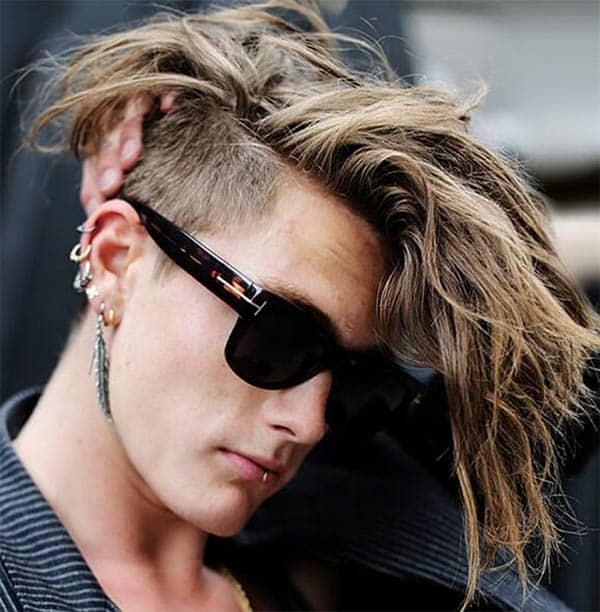 Undercut With Long Hair - Punk Hairstyles For Men