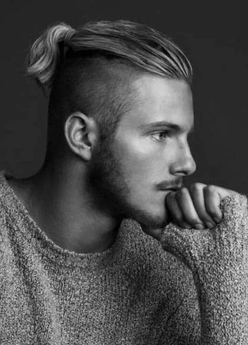 Undercuts with Ponytails - best Viking Hairstyles