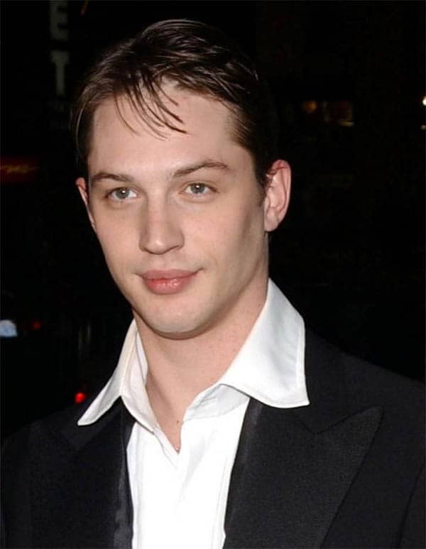 Very Long Messy Bangs - Best Tom Hardy Haircut