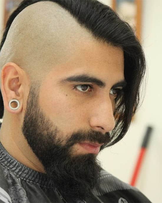 Viking Hairstyle - Punk Hairstyles For Men