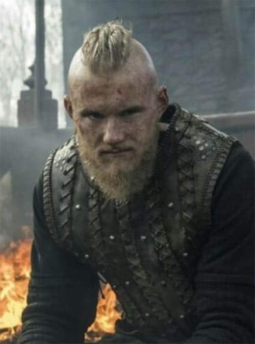 Viking Hairstyle with Bjorn Styles - best Viking Hairstyles